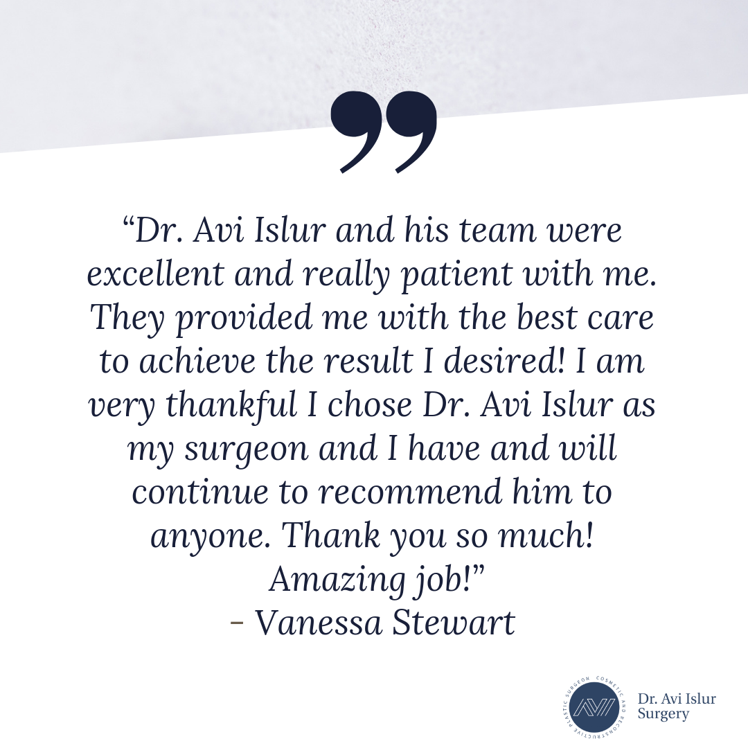 Patient Review for Dr. Avi Islur